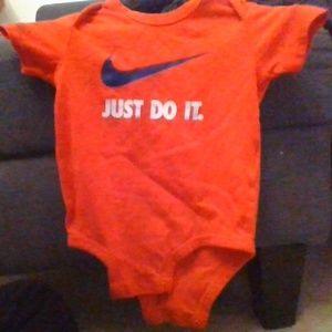 Nike onesie